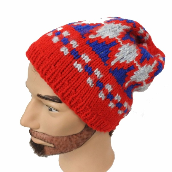 1de1f5c93fe Hand Knit in USA Slouchy Hipster Beanie - Box C